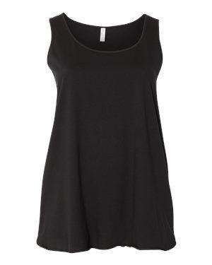 LAT Women's Curvy Collection Tank Top