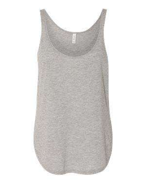 Bella + Canvas Women's Flowy Side Slit Tank Top - 8802