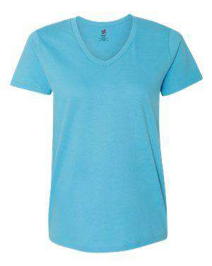 Hanes Women's Tagless® V-Neck T-Shirt - 5780