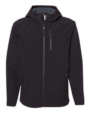 Independent Trading Men's Poly-Tech Soft Shell Jacket