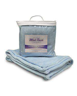 Alpine Fleece Faux Mink Infant Blanket - 8722