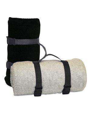 Alpine Fleece Nylon Handle Blanket Strap