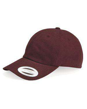 Brand: Yupoong | Style: 6245PT | Product: Peached Cotton Twill Dad Cap