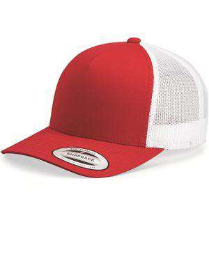 Brand: Yupoong | Style: 6506 | Product: Retro Snapback Trucker Cap