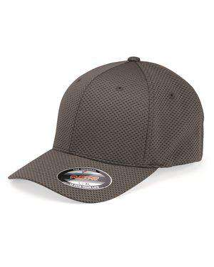 Brand: Flexfit | Style: 6584 | Product: 3D Hexagon Stretch Jersey Cap