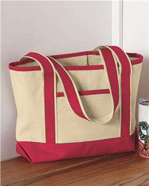 Brand: Q-Tees | Style: Q125800 | Product: 20L Small Canvas Deluxe Tote