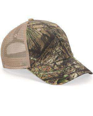 Brand: Kati | Style: LC101V | Product: Unstructured Washed Mesh Cap