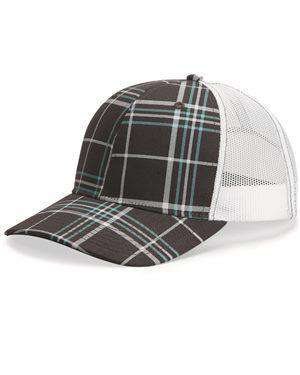 Brand: Richardson | Style: 112P | Product: Patterned Snapback Trucker Cap