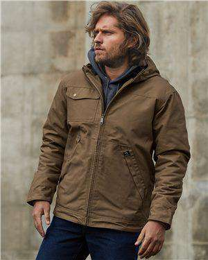 Brand: DRI DUCK | Style: 5065 | Product: Yukon Canvas Hooded Jacket