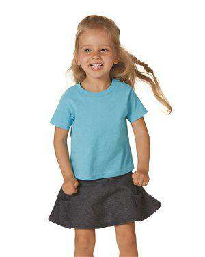 Brand: Rabbit Skins | Style: 3301T | Product: Toddler Cotton Jersey Tee