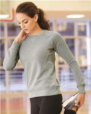 Brand: Russell Athletic | Style: LF3YHX | Product: Women's Lightweight Crewneck Sweatshirt