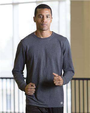 Brand: Russell Athletic | Style: 64LTTM | Product: Essential Long Sleeve 60/40 Performance Tee
