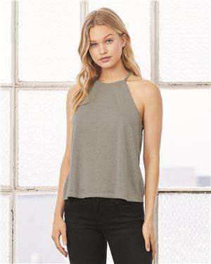 Brand: Bella + Canvas | Style: 8809 | Product: Women's Flowy High Neck Tank