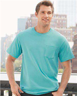 Brand: Gildan | Style: H300 | Product: Hammer Short Sleeve T-Shirt with a Pocket