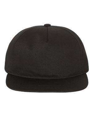 Yupoong Unstructured Five-Panel Snapback Cap
