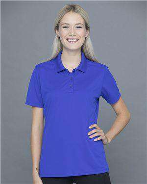 Brand: JERZEES | Style: 442W | Product: Dri-Power® Women's Polyester Mesh Sport Shirt