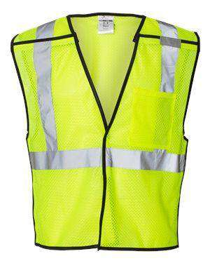 ML Kishigo Men's Economy Breakaway Safety Vest - 1536