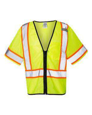 ML Kishigo Men's Contrasting Mesh Safety Vest - 1566
