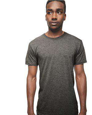 Brand: American Apparel | Style: TR401US | Product: Triblend Track T-Shirt - USA
