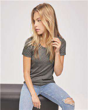 Brand: American Apparel | Style: TR301W | Product: Women's Triblend T-Shirt