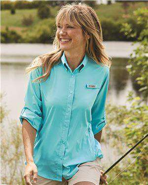 Brand: Columbia | Style: 127570 | Product: Women's PFG Tamiami™ II Long Sleeve Shirt
