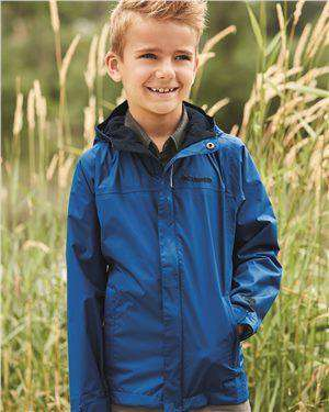 Brand: Columbia | Style: 158064 | Product: Youth Watertight Jacket