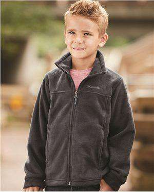 Brand: Columbia | Style: 151045 | Product: Youth Steens Mountain Full-Zip
