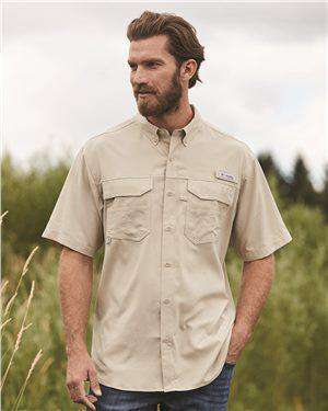 Brand: Columbia | Style: 157722 | Product: PFG Blood and Guts™ III Short Sleeve Shirt