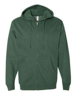 Independent Trading Men's Fleece Hoodie Sweatshirt