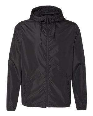 Independent Trading Men's Full-Zip Hoodie Windbreaker