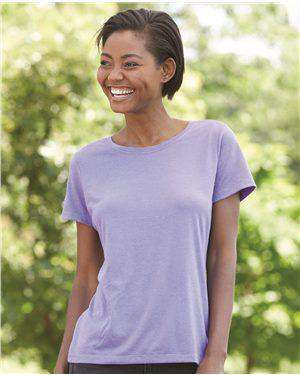 Brand: Hanes | Style: MO150 | Product: Women's Modal Triblend T-Shirt