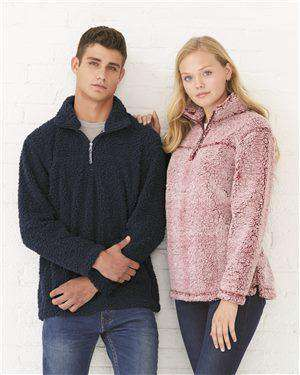 Brand: Boxercraft | Style: Q10 | Product: Unisex Sherpa Quarter-Zip Pullover