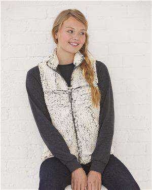Brand: Boxercraft | Style: Q11 | Product: Women's Sherpa Vest