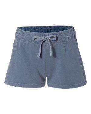 Comfort Colors Women's Ringspun Flatcord Shorts