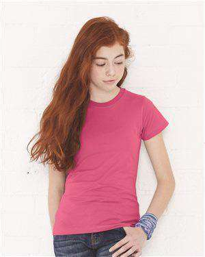 Brand: LAT | Style: 2616 | Product: Girls' Fine Jersey Tee