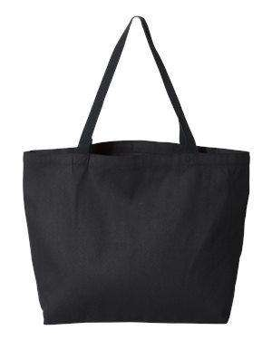 Liberty Bags Isabella Gusseted Canvas Tote Bag