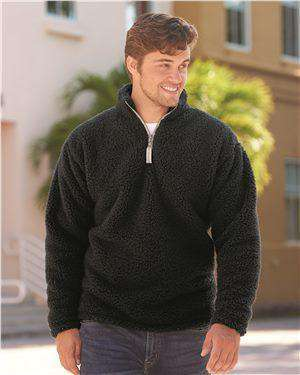 Brand: J. America | Style: 8454 | Product: Epic Sherpa Quarter-Zip