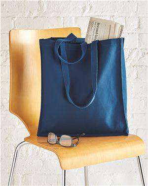 Brand: OAD | Style: OAD100 | Product: Promotional Canvas Shopper Tote