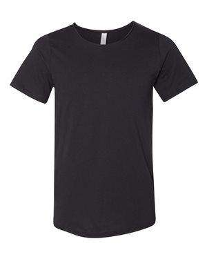 Bella + Canvas Men's Raw Scoop Neck T-Shirt