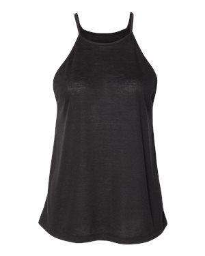 Bella + Canvas Women's Flowy High Neck Tank Top