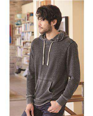 Brand: Alternative | Style: 8629 | Product: School Yard Burnout French Terry Hoodie
