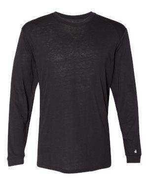 Badger Sport Men's Tri-Blend Long Sleeve T-Shirt