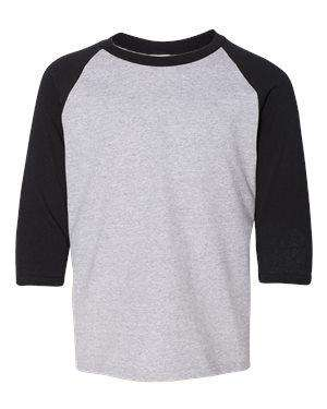 Gildan Youth Heavy Cotton™ Raglan Baseball T-Shirt