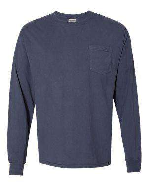 Hanes Men's Pocket Long Sleeve T-Shirt