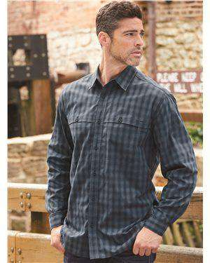 Brand: DRI DUCK | Style: 4465 | Product: Paseo Plaid Shirt