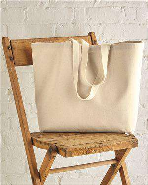 Brand: OAD | Style: OAD108 | Product: 12 oz. Cotton Canvas Tote