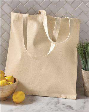 Brand: OAD | Style: OAD113 | Product: Cotton Canvas Tote
