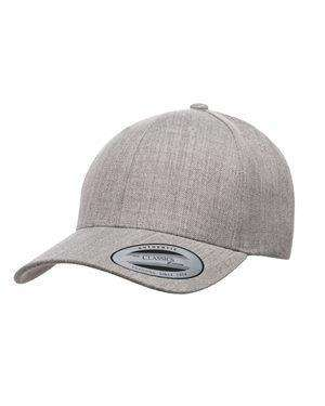 Brand: Yupoong | Style: 6789M | Product: Premium Curved Visor Snapback Cap
