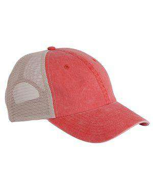 Brand: Sportsman | Style: SP510 | Product: Pigment Dyed Trucker Cap