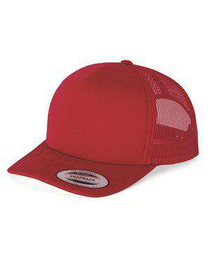 Brand: Yupoong | Style: 6320 | Product: Foam Trucker Cap with Curved Visor
